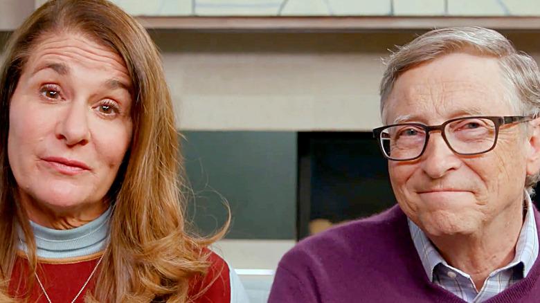 Bill and Melinda Gates pictured together