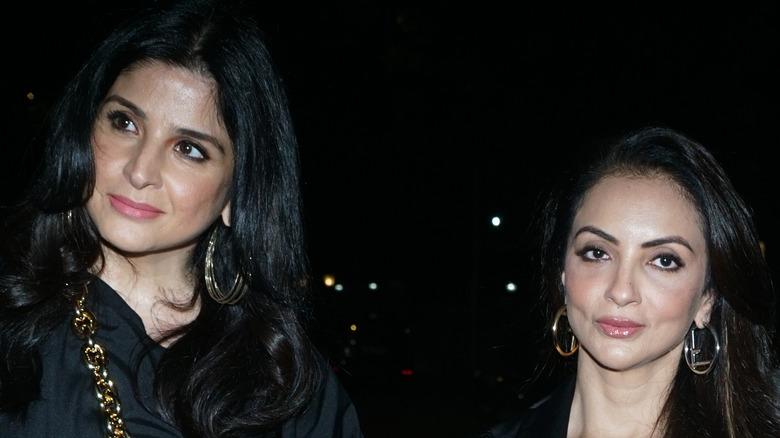 Neelam Kothari and Seema Khan