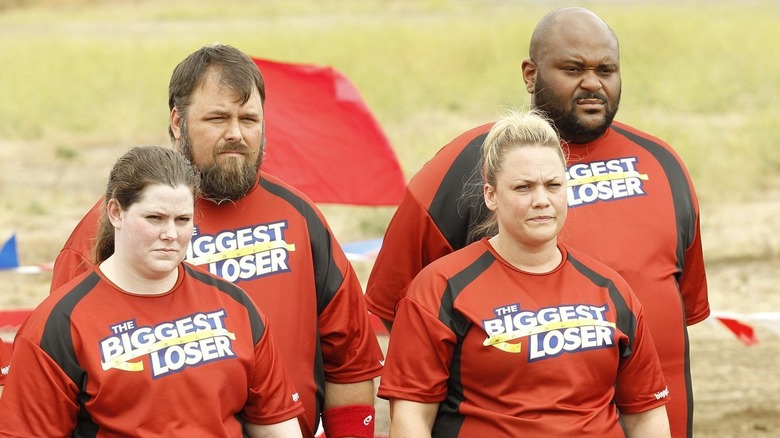 Contestants wearing red on The Biggest Loser