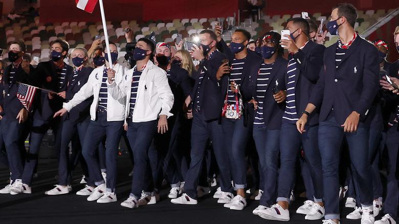 Tokyo 2020 Opening ceremony, Team USA