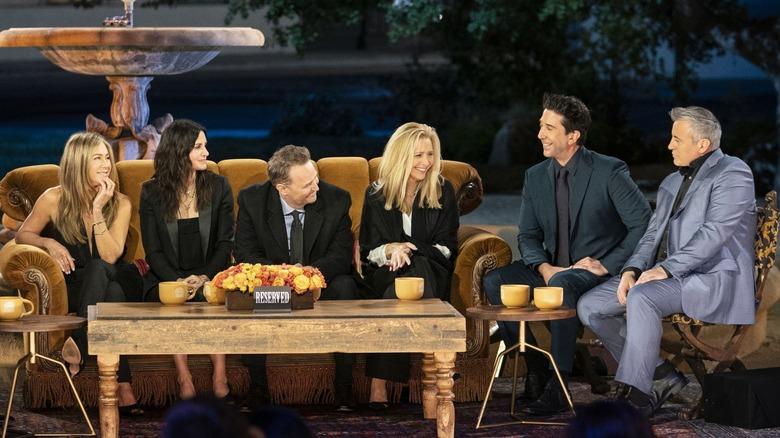 The Friends cast participate in The Reunion