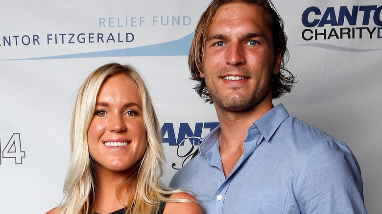 female athlete Bethany Hamilton and Adam Dirks