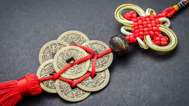 Chinese coins for feng shui
