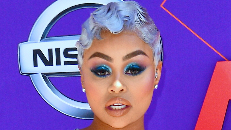 Blac Chyna with finger waves