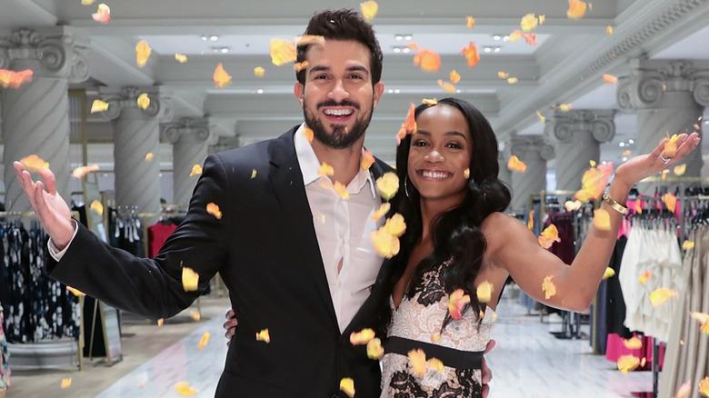Rachel Lindsay and Bryan Abasalo