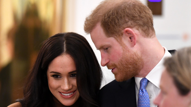 Harry and Meghan speaking to each other