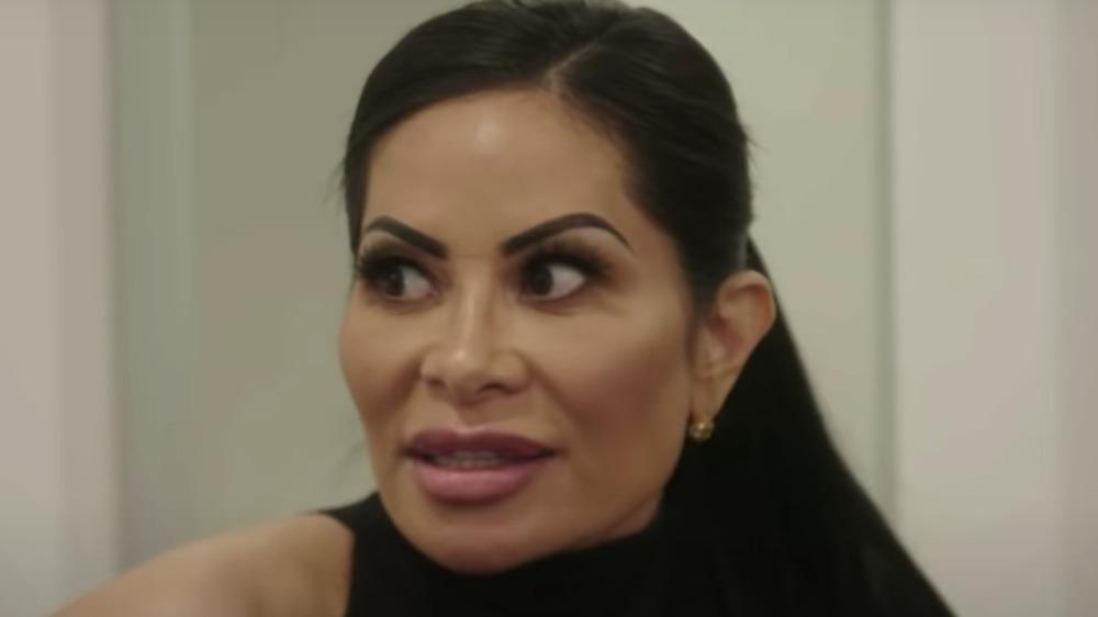 Jen Shah appearing in an episode of RHOSLC