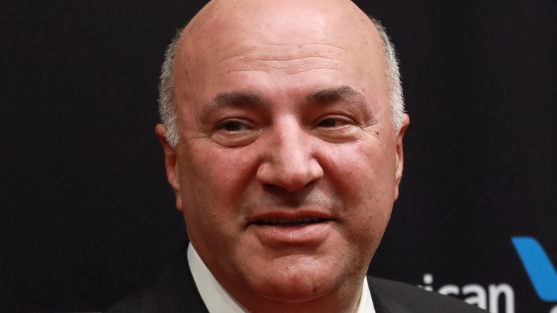 Kevin O'Leary smiling