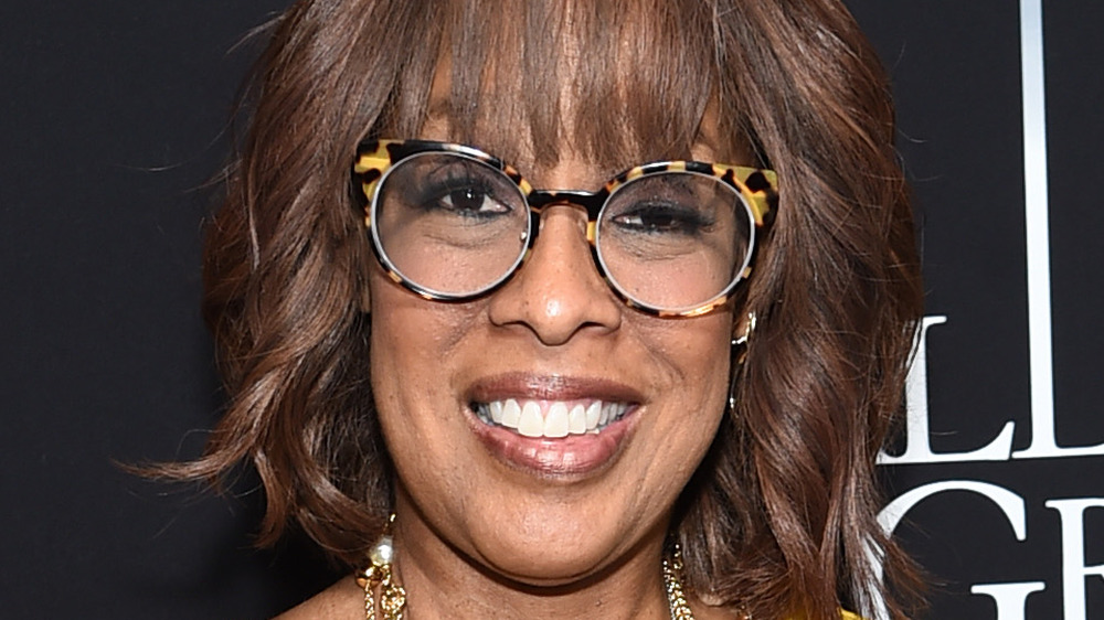 Gayle King smiling at event