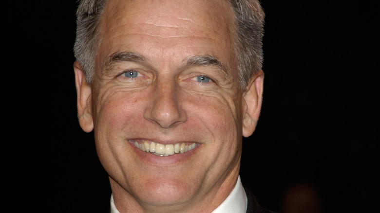 Mark Harmon smiling