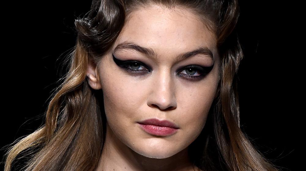 Gigi Hadid modeling