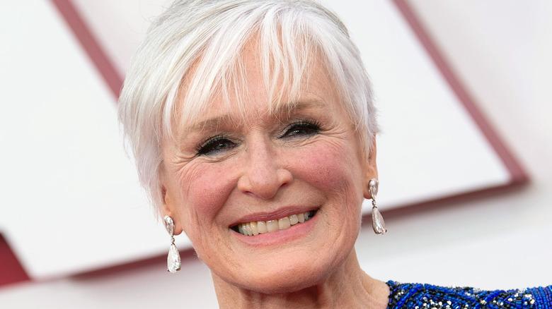 Glenn Close smiling at Oscars