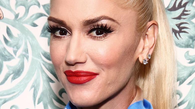 Gwen Stefani smiling at an event