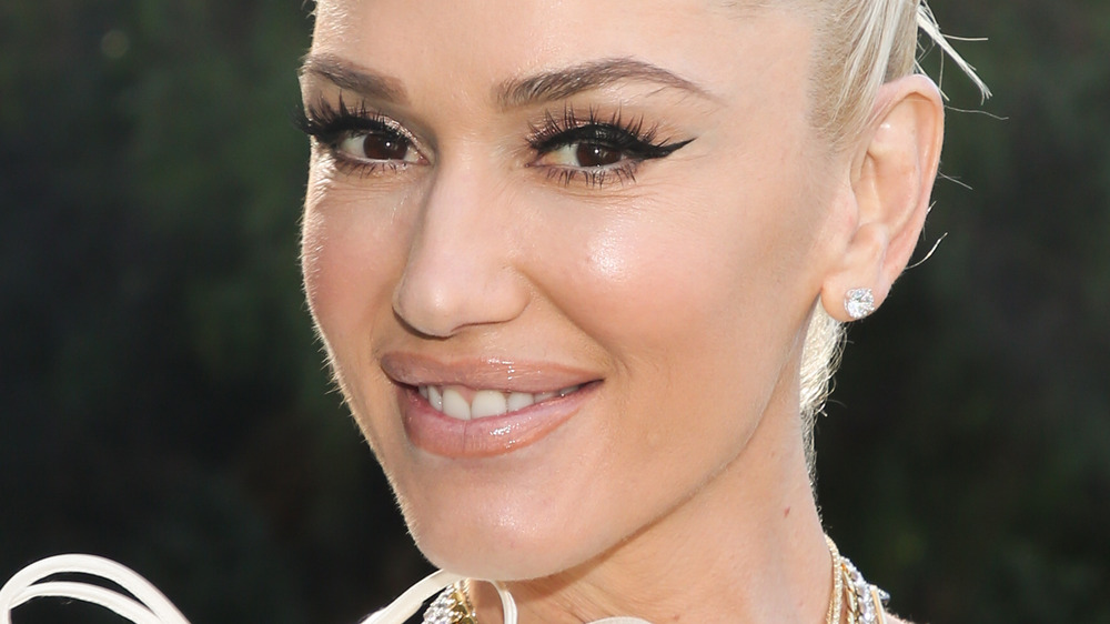 Gwen Stefani with up 'do