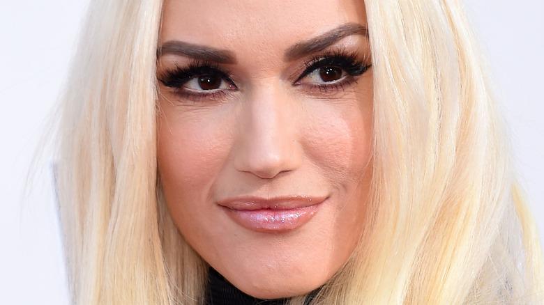 Gwen Stefani close up