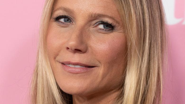 Gwyneth Paltrow smiling slightly