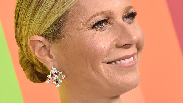 Actress Gwyneth Paltrow smiling