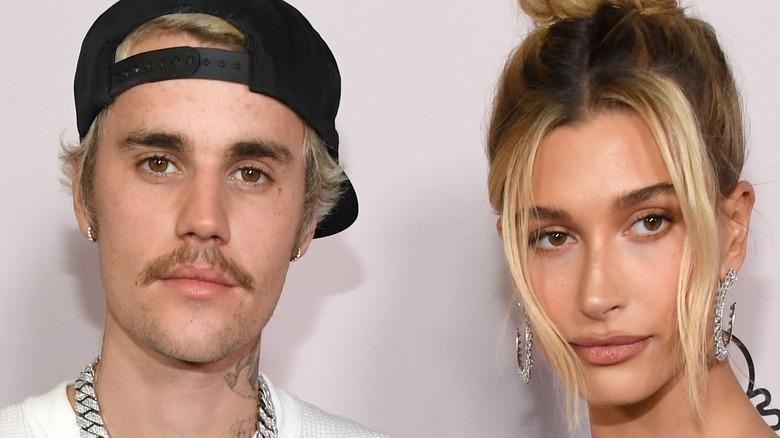 Hailey Baldwin and husband Justin Bieber.
