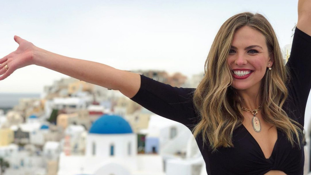 Hannah Brown in Greece