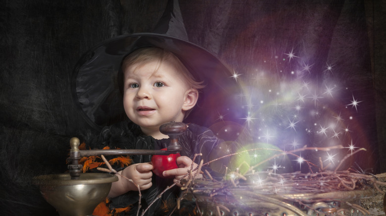 haunting baby names witchy baby