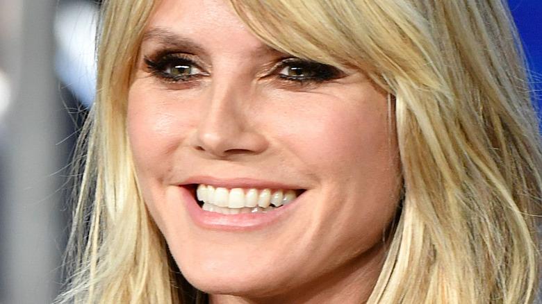 Heidi Klum smiling
