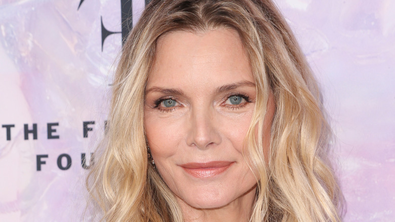 Michelle Pfeiffer smiling