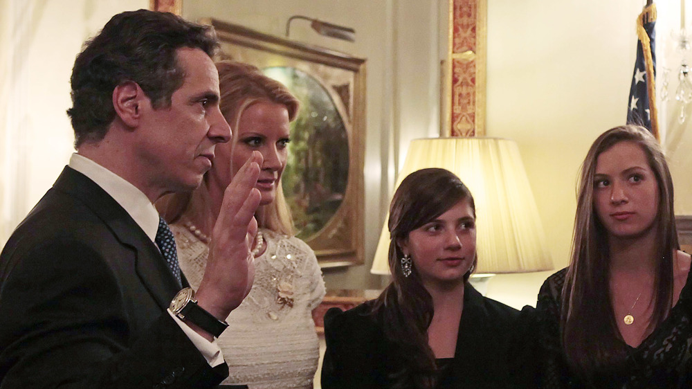 Andrew Cuomo during his 2010 oath-taking