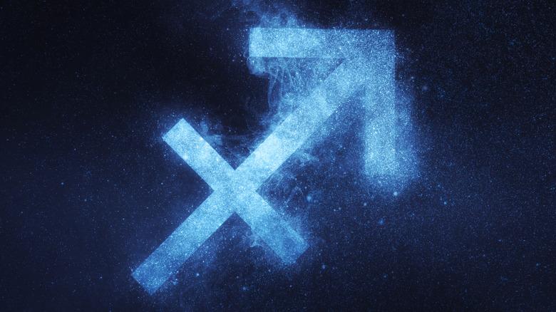 The Sagittarius symbol