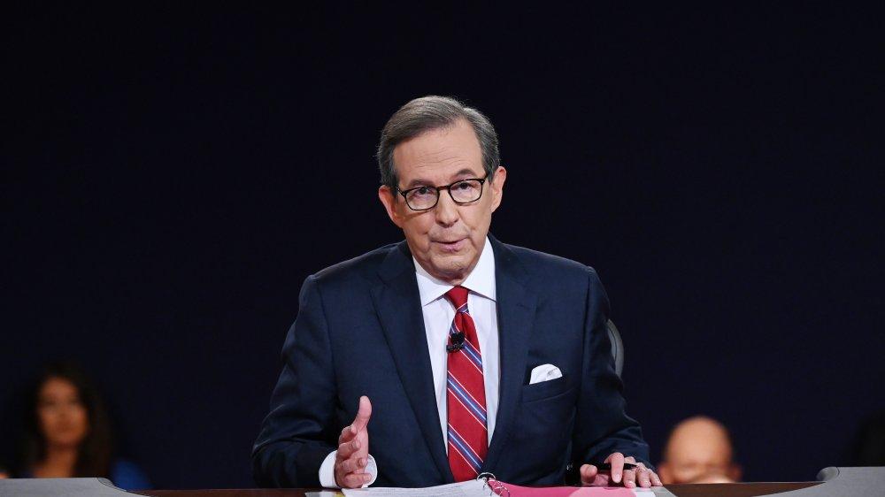 Chris Wallace during debate night