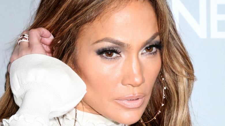 Jennifer Lopez at an event.