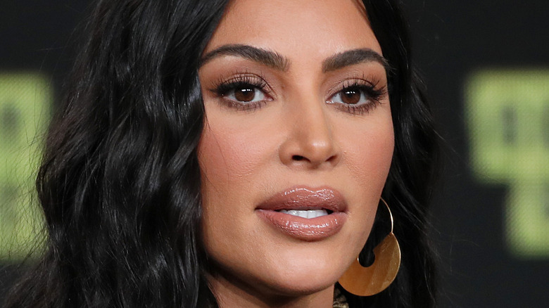 Kim Kardashian at an event in Pasadena