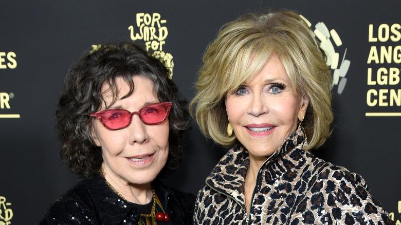 Tomlin and Fonda
