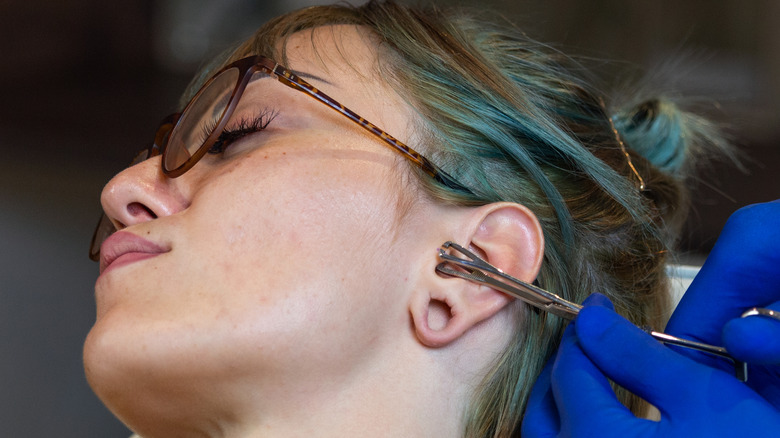 Ear Piercing Change