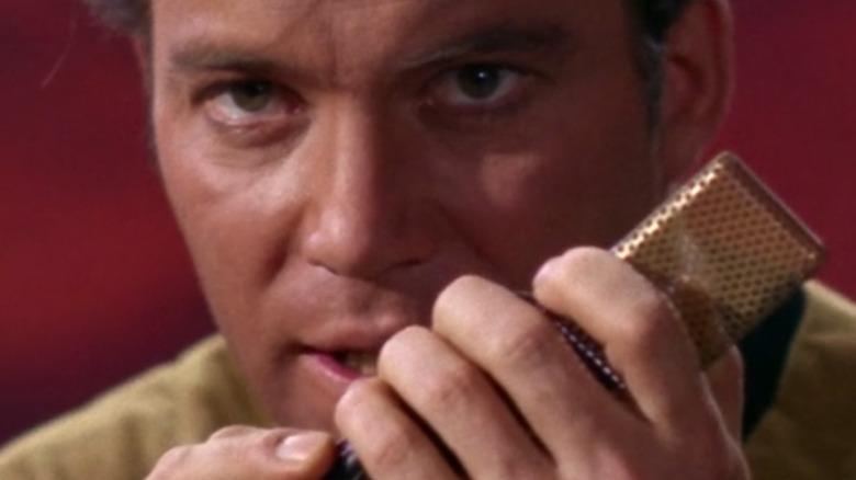 William Shatner at Captain Kirk