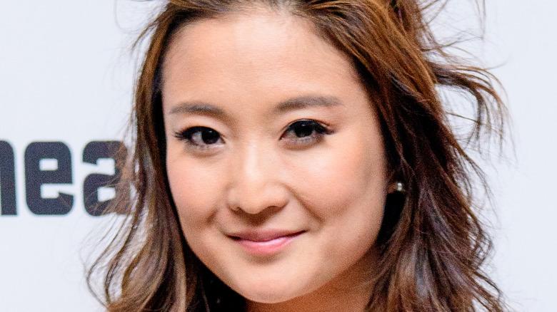 Ashley Park posing