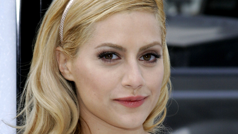 Brittany Murphy smiling