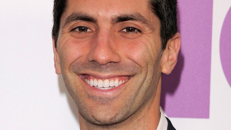 Closeup of Nev Schulman smiling
