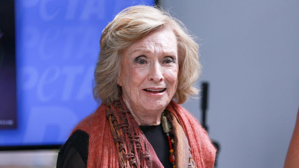 Cloris Leachman attending an event