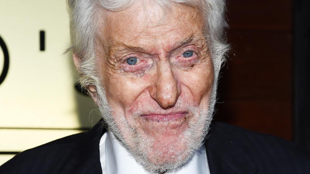 Dick Van Dyke mouth closed grin