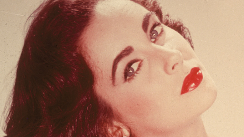 Elizabeth Taylor in younger years