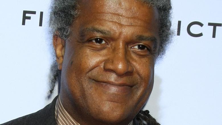 Elvis Mitchell grinning