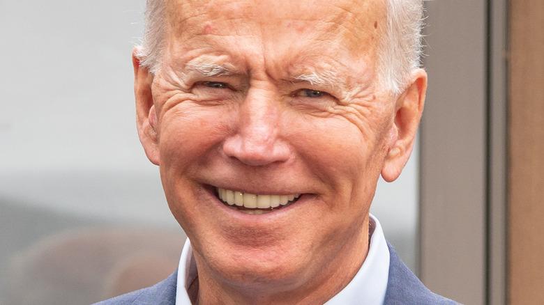Joe Biden on campaign trail