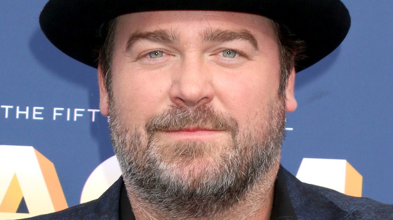 Lee Brice with black hat