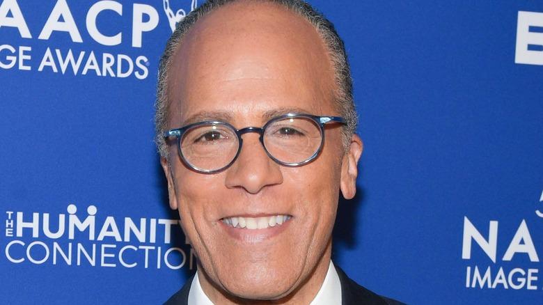 Lester Holt at NAACP Image Awards