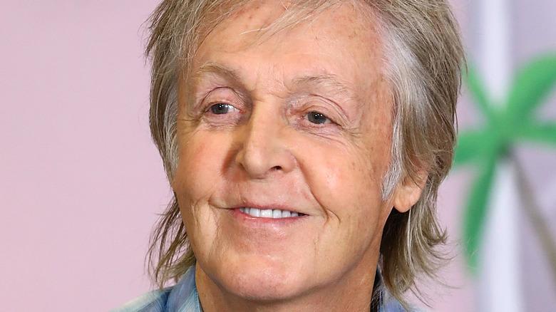 Paul McCartney smiling