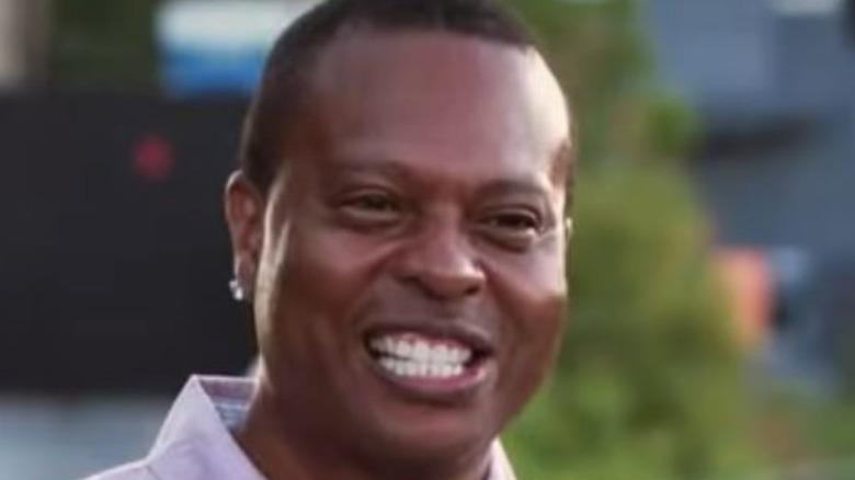 Rodney Foster smiling