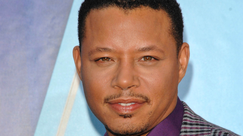 Terrence Howard at a red carpet event