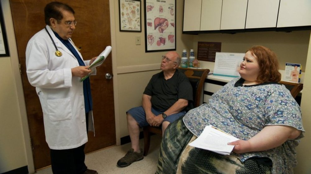 My 600-lb Life patient with Dr. Now