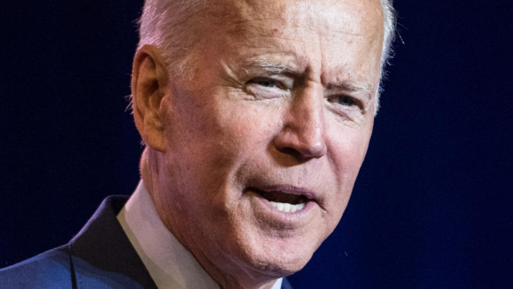 President Joe Biden talking