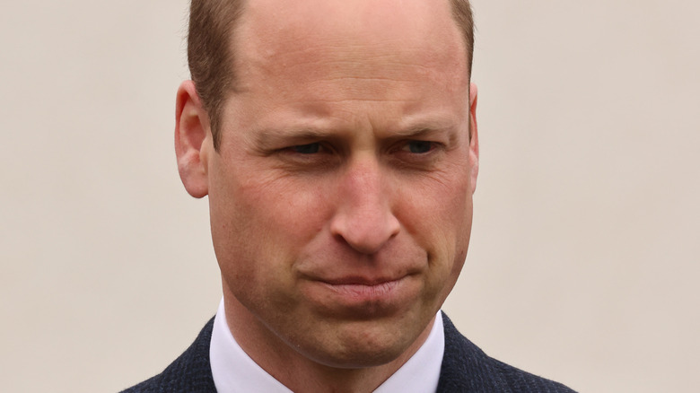 Prince William attends an event